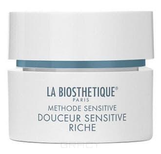 La Biosthetique Успокаивающий интенсивный крем для очень сухой, чувствительной кожи Douceur Sensitive Riche Methode Sensitif , 200 мл la biosthetique регенерирующий крем для чувствительной кожи methode relaxante douceur restructurante 200 мл