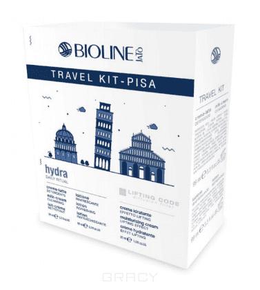 Bioline Дорожный набор для лица Пиза TRAVEL KIT PISA HYDRA/LIFTING CODE, 99/99/30 мл bioline дорожный набор для возрастной кожи energy 30 99 99 мл