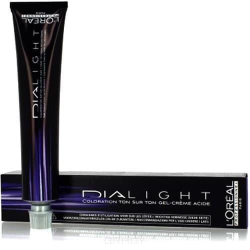 LOreal Professionnel, Краска для волос Dia Light, 50 мл (34 оттенка) 5.8 светлый шатен мокка