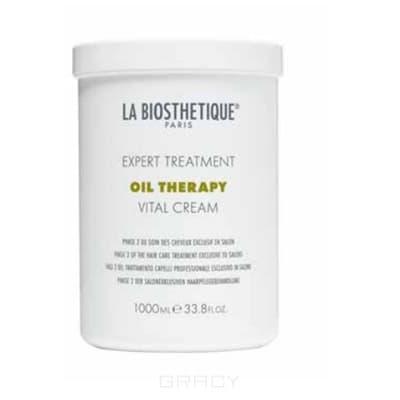 La Biosthetique Маска для интенсивного восстановления поврежденных волос, фаза 2 Vital Cream, 1 л маска для лечения волос 1 л zab маска для лечения волос 1 л