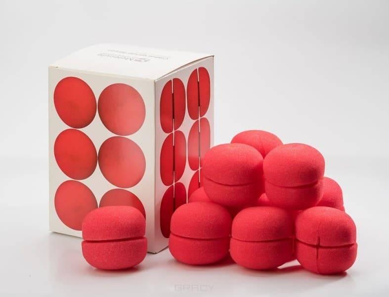 Molecule Professional, Самые мягкие бигуди для локонов Sponge Hair Rollers (12 шт)