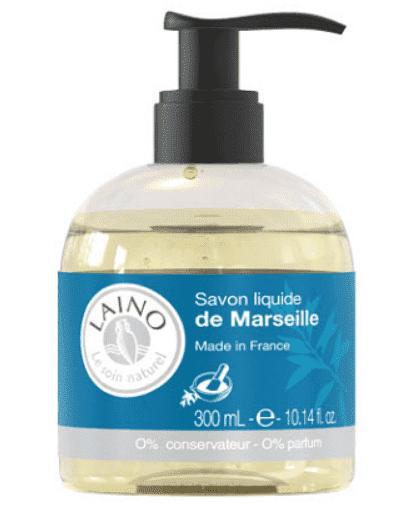 Laino Жидкое Марсельское мыло, 300 мл laino мыло традиционное марсельское 150 г