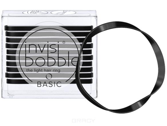 Invisibobble Резинка для волос BASIC True Black черный, 10 шт резинки city flash резинка для волос
