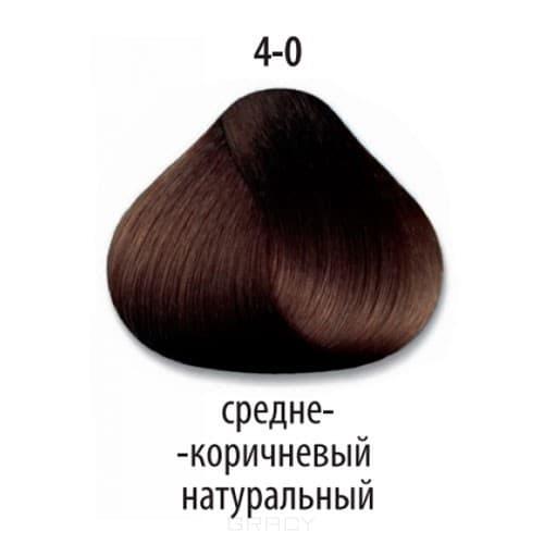 Constant Delight, Стойкая крем-краска для волос Delight Trionfo (63 оттенка), 60 мл 4-0 Средний коричневый натуральный