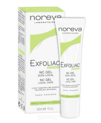 Noreva NC-Гель локальный уход с Ниацинамидом Exfoliac, 30 мл