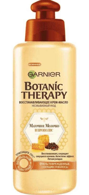 Garnier Масло для волос Прополис Уход крем-масло Botanic Therapy, 200 мл масла derbe масло моющее с алое olioderbe для секущихся и тонких волос