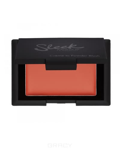 Sleek MakeUp Кремовые румяна Creme to Powder Blush (5 оттенков), French Rose, тон 78 sleek makeup creme to powder blush carnation кремовые румяна тон 77