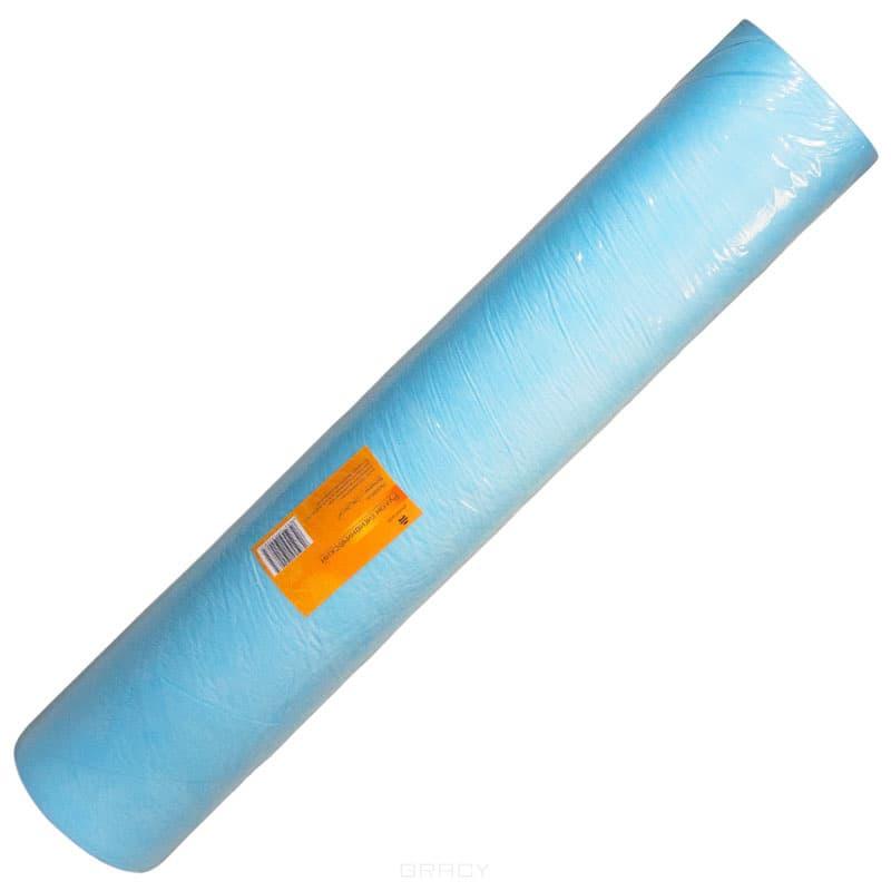 Planet Nails Рулон гигиенический голубой 70*20000 см planet nails салфетки х б лигнина 500 шт рулон
