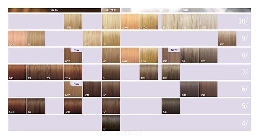 Wella Карта цветов Illumina Color 2015 (37 оттенков) wella 5 краска д волос illumina color 60мл