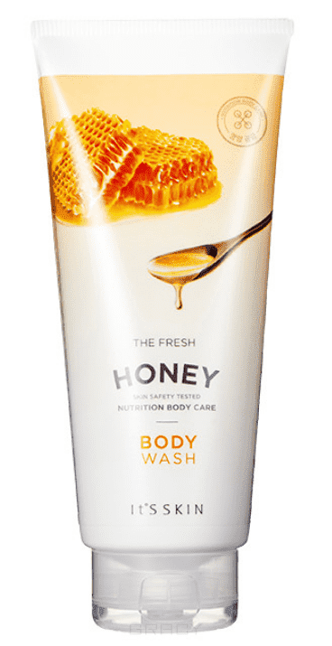 "Купить со скидкой It's Skin - Гель для душа ""Зе Фреш"", мед The Fresh Honey Body Wash, 250 мл"