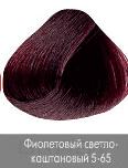 Nirvel, Краска для волос ArtX (95 оттенков), 60 мл 5-65 Фиолетовый светло-каштановый