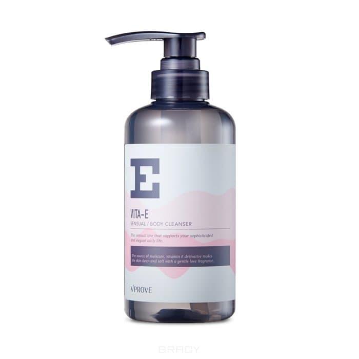 Купить Vprove - Очищающий гель для душа Вита Е Сеншуал , цветочный Vita E Sensual Body Cleanser, 400 мл