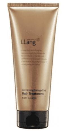 LLang Кондиционер-тритмент для поврежденных волос с экстрактом красного женьшеня Red Ginseng Damage Care Hair Treatment, 200 мл шампунь llang red ginseng pure healing hair shampoo 500 мл