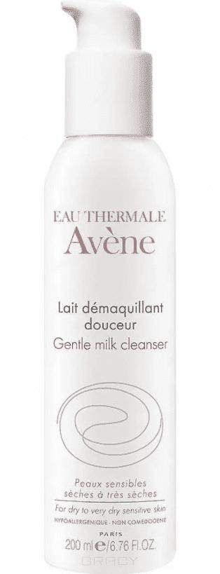 Avene Мягкое очищающее молочко, 200 мл лосьон для лица avene для сверхчувствительной кожи 200 мл очищающий