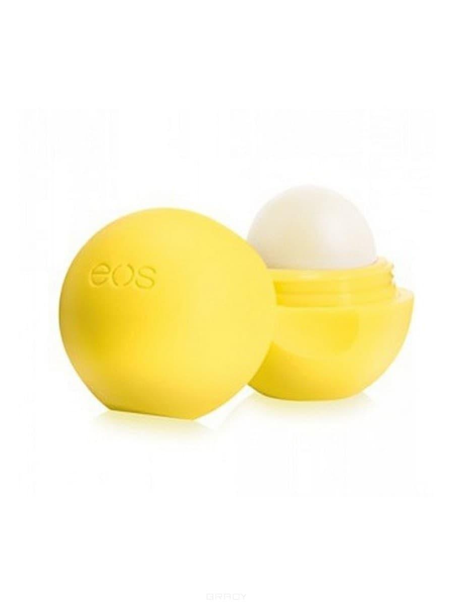 EOS, Бальзам для губ Лимон Lemon Drop with SPF 15 (на картонной подложке)