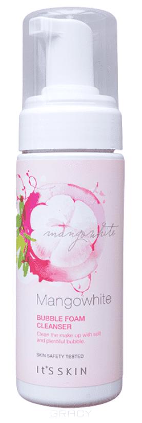 It's Skin Очищающая пенка Манго Вайт с дозатором MangoWhite Bubble Foam Cleanser, 150 мл салфетки it s skin mangowhite lip