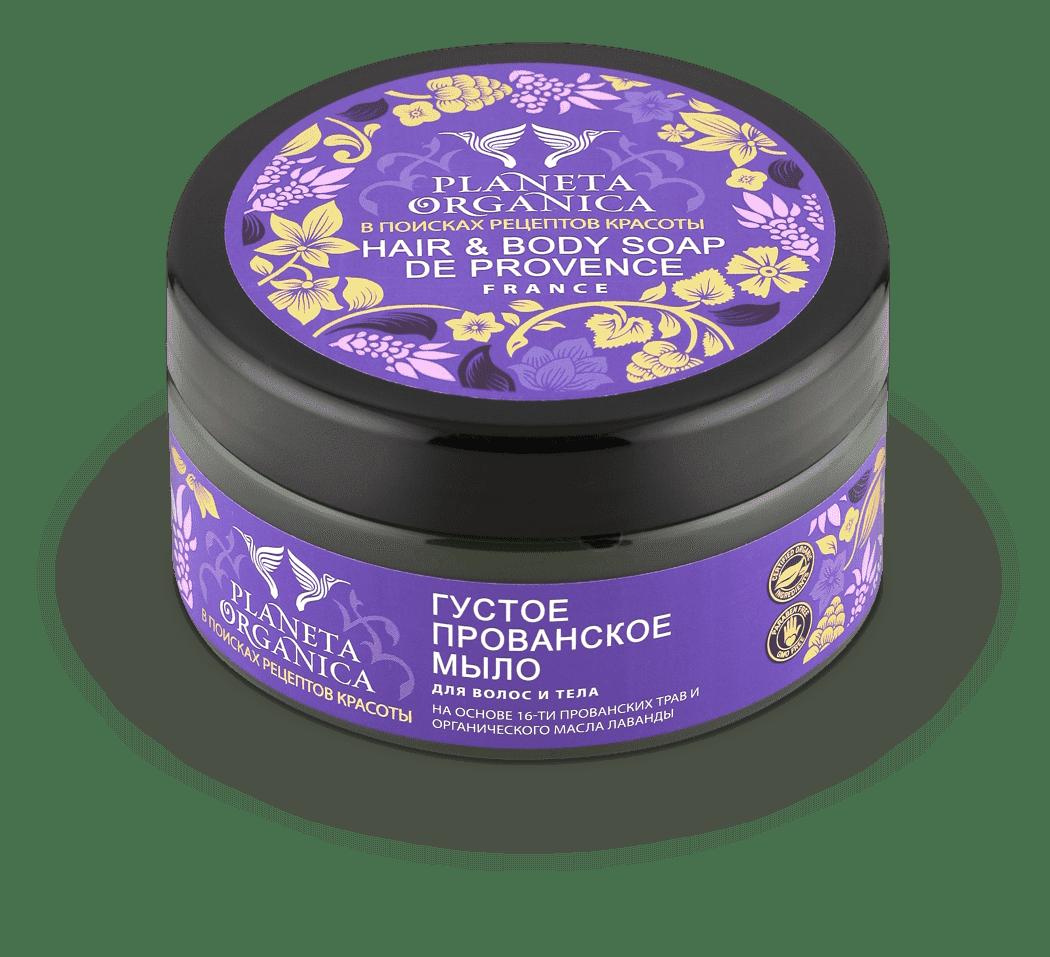 Planeta Organica Густое прованское мыло для волос и тела