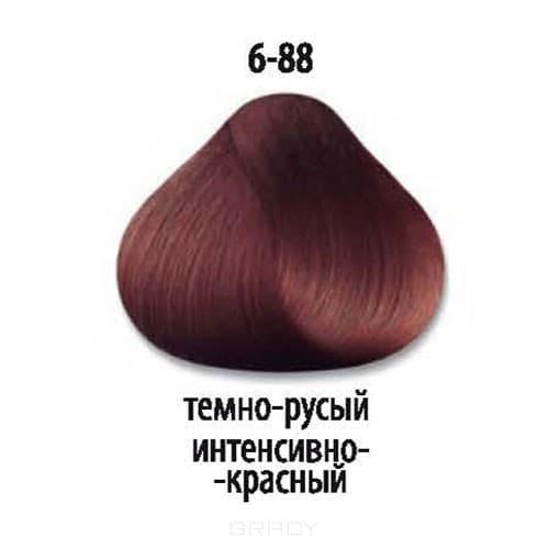 Constant Delight, Стойкая крем-краска для волос Delight Trionfo (63 оттенка), 60 мл 6-88 Темный русый интенсивный красный