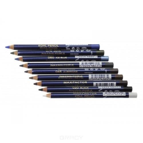 Max Factor Карандаш для глаз Kohl Pencil Soft (8 оттенков), 1,5 гр, №060 Ice blue/Голубой, 1,5 гр карандаш для глаз max factor kohl pencil цвет 060 ice blue variant hex name 387d9e вес 10 00