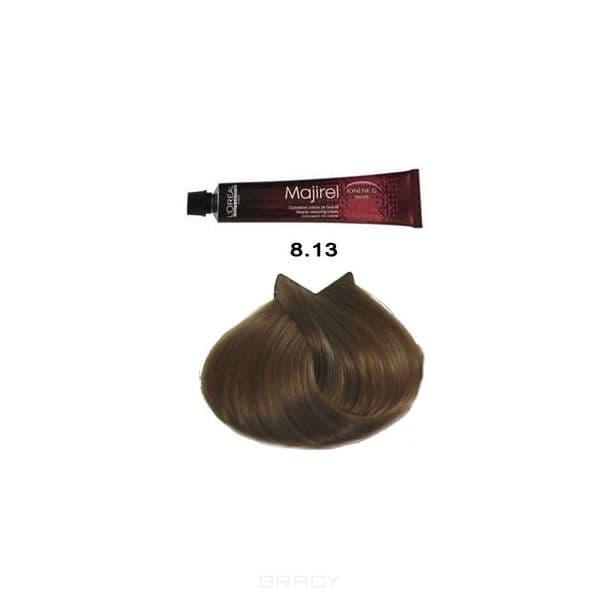 LOreal Professionnel, Крем-краска Мажирель Majirel, 50 мл (88 оттенков) 8.13 светлый блондин пепельно-золотистый