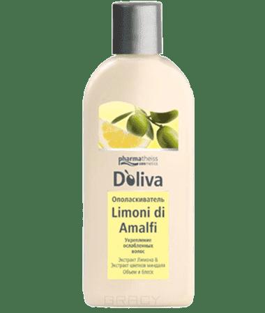 Doliva Ополаскиватель Limoni di Amalfi для укрепления ослабленных волос, 200 мл, Ополаскиватель Limoni di Amalfi для укрепления ослабленных волос, 200 мл, 200 мл doliva гель для душа с витаминами 200 мл