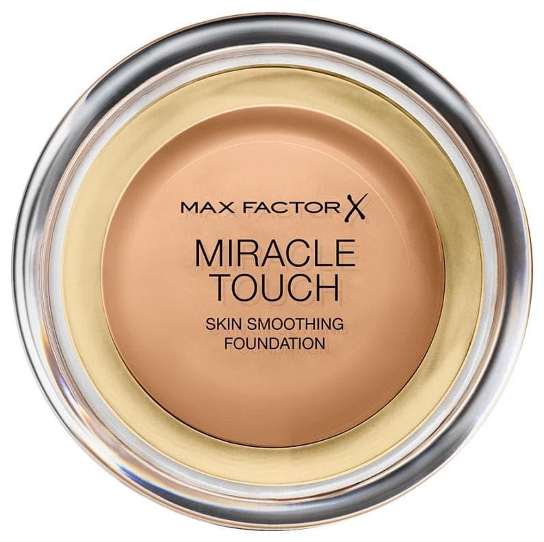 Max Factor Тональная основа Miracle Touch, (6 оттенков), 45 Теплый миндаль/Warm almond, 1 шт too faced born this way тональная основа almond миндаль