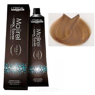 LOreal Professionnel, Краска для волос Majirel Cool Cover, 50 мл (33 оттенка) 9.3 очень светлый блондин золотистый