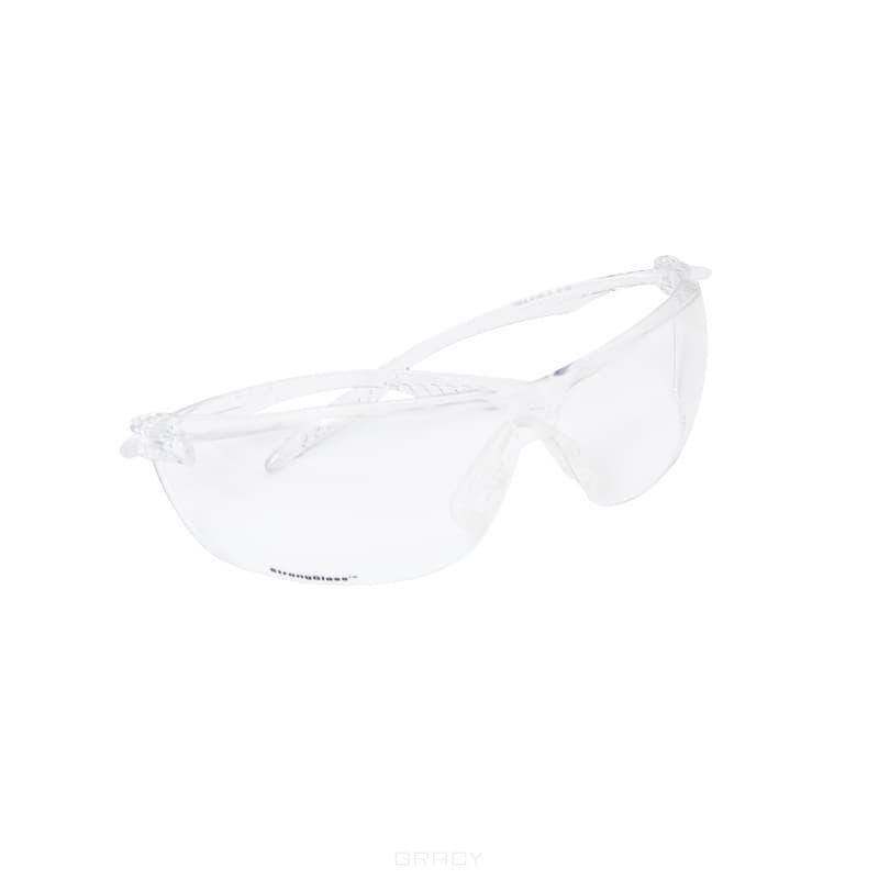Planet Nails Очки защитные Surgut StrongGlass, незапотевающие очки защитные вентилируемые незапотевающие