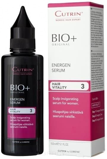 Cutrin Энергетический лосьон для женщин Hair Vitality Energen Serum, 150 мл, Энергетический лосьон для женщин Hair Vitality Energen Serum, 150 мл, 150 мл недорого