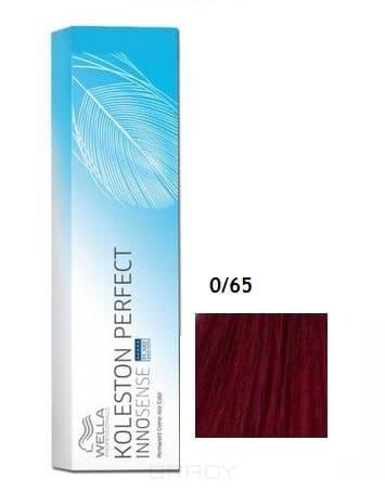 Wella, Стойкая крем-краска Koleston Perfect Innosense, 60 мл 0/65 фиолетово-махагоновый