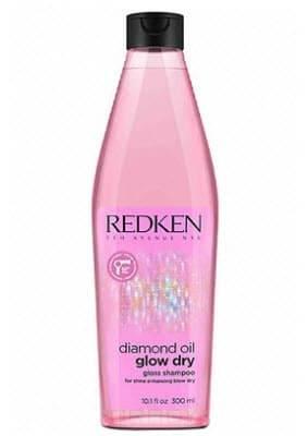 Redken Шампунь для блеска волос Diamond Oil Glow Dry, 500 мл