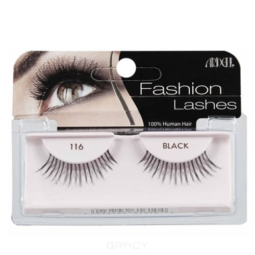 Ardell Накладные ресницы Fashion Lashes 116 накладные ресницы ardell magnetic strip lash double demi wispies цвет double demi wispies variant hex name 000000