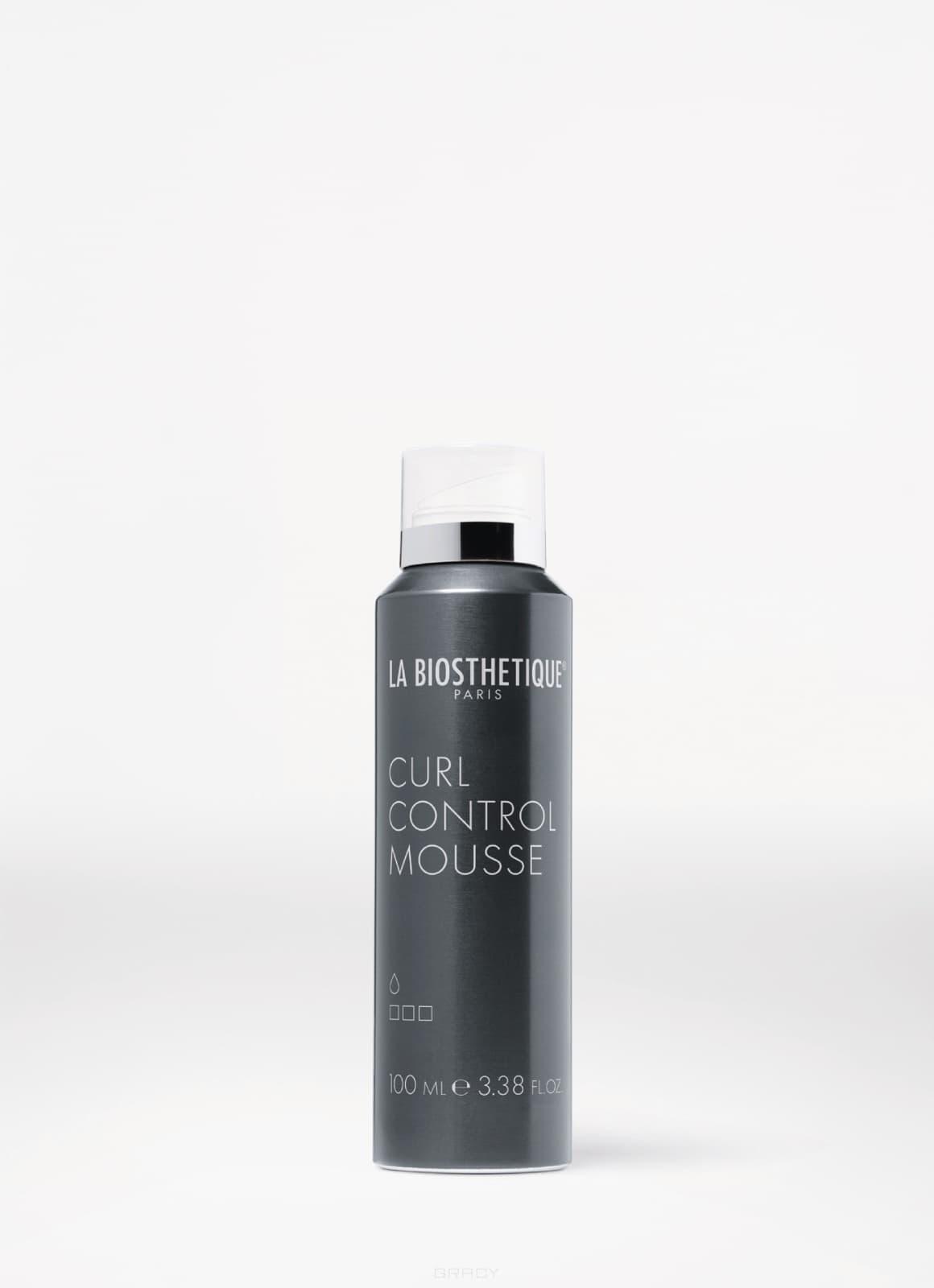 La Biosthetique Гелевая пенка для вьющихся волос Curl Control Mousse, 100 мл la biosthetique моделирующий лак для волос сильной фиксации molding spray 300 мл