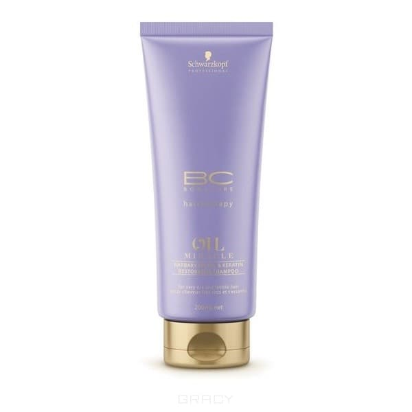 Schwarzkopf Professional Блеск BF Шампунь восстанавливающий для волос, 200 мл schwarzkopf bc oil miracle brazilnut oil in shampoo шампунь с маслом бразильского ореха 1000 мл