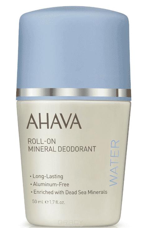 Ahava Дезодорант шариковый минеральный для женщин Deadsea Water, 50 мл ahava deadsea water минеральный крем для тела deadsea water минеральный крем для тела