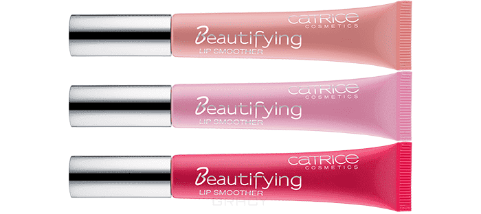 Catrice Блеск для губ Beautifying Lip Smoother, 9 мл (3 оттенка), Блеск для губ Beautifying Lip Smoother, 9 мл (3 оттенка), 9 мл, тон 040 кофе с молоком Coffee To Go консилер catrice allround beautifying concealer eye lip pencil 020 цвет 020 beautifying ivory variant hex name f8cbb3 вес 20 00