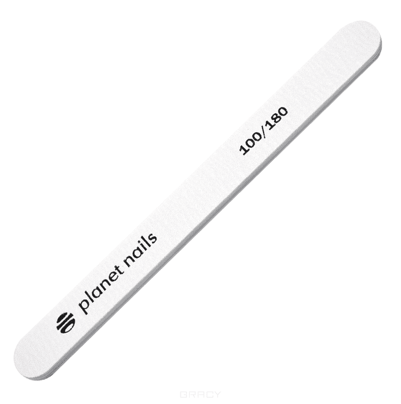 Planet Nails Пилка для ногтей стандартная Retro 100/180 kinetics пилка для натуральных ногтей 180 180 white turtle