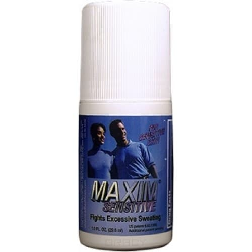 MAXIM Дезодорант-антиперсперант с шариковым аппликатором для чувствительной кожи 10,8% Maxim Antiperspirant  Sensetive  10,8%, 29,5 мл, Дезодорант-антиперсперант с шариковым аппликатором для чувствительной кожи 10,8% Maxim Antiperspirant  Sensetive  10,8%, 29,5 мл, 29,5 мл антиперспирант maxim dabomatic 30% дезодорант максим