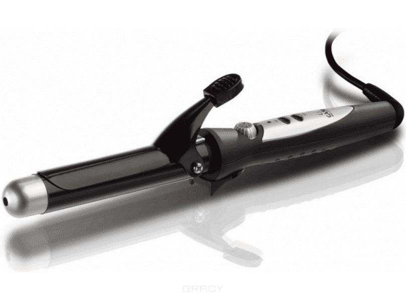 Ga.Ma Плойка, Плойка, 1 шт, диаметр 25 мм (F21.25CE) плойка harizma professional h10305 25 mini curl 25 мм плойка для волос 1 шт