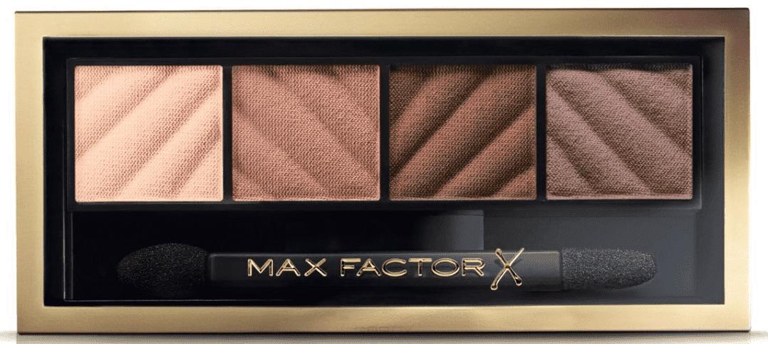 Max Factor Тени для век и пудра для бровей Smokey Eye Matte Drama Kit 2 в 1, (4 оттенка), Тон 20 rich roses