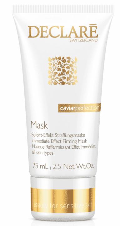 Declare Лифтинг-маска мгновенного действия с экстрактом черной икры Immediate Effect Firming Mask Caviar Perfection nutrix caviar crema nutritiva caviar spf 15 крем питательный c экстрактом черной икры 50 мл kueshi
