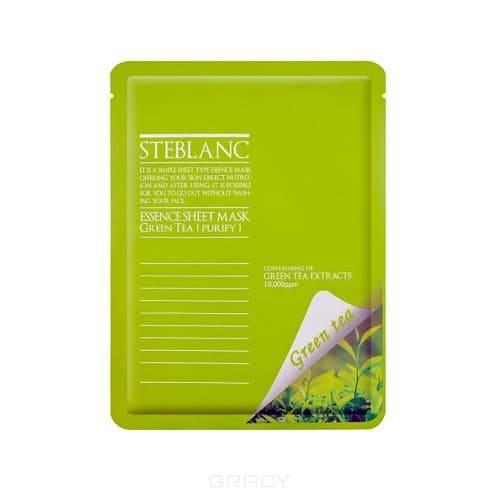 Steblanc Маска для лица Очищающая с экстрактом Зелёного чая, 45EA-22482