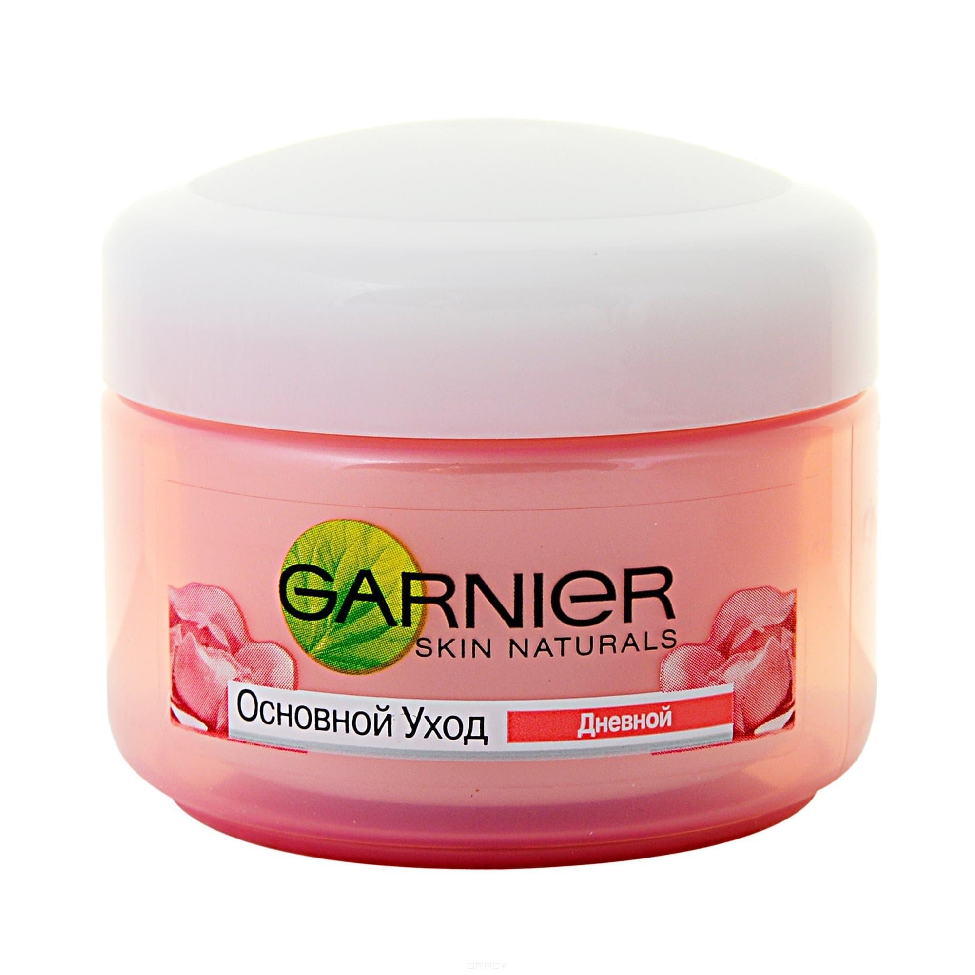 Garnier Крем увлажнение для сухой и чувствительной кожи Skin Naturals Основной уход, 50 мл, Крем увлажнение для сухой и чувствительной кожи Основной уход, 50 мл, 50 мл