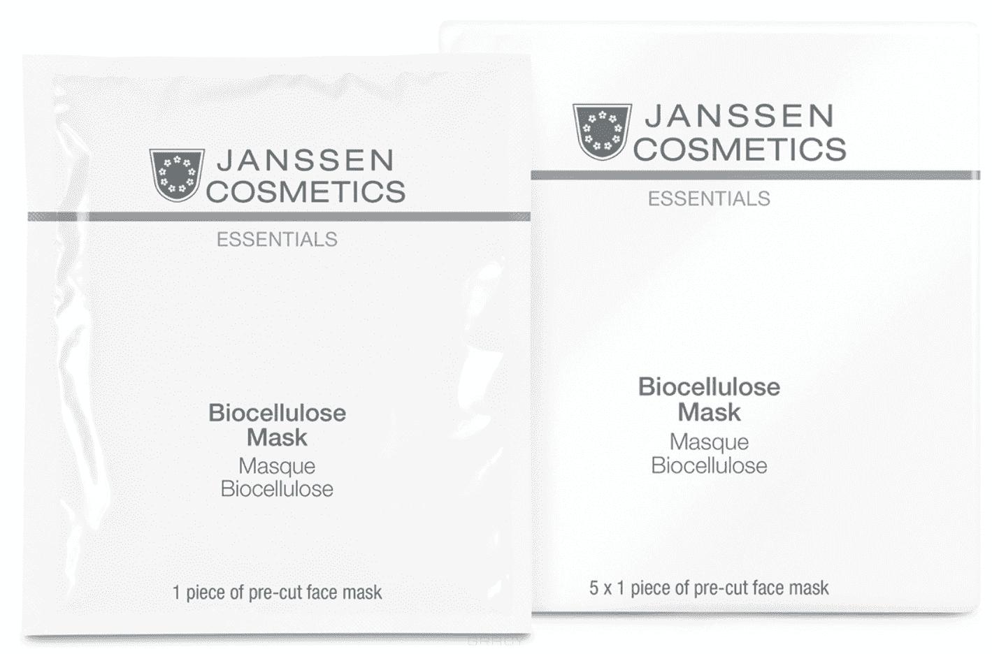 Janssen Интенсивно-увлажняющая лифтинг маска Biocellulose Mask, 1 шт janssen tropic power матригель лифтинг маска с экстрактами тропических фруктов 2 желтых круга