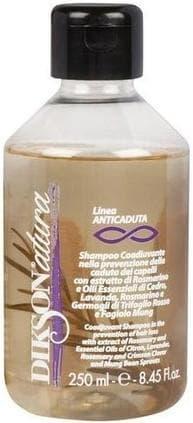 Dikson Шампунь против выпадения волос Natura Anticaduta, 250 мл dikson укрепляющий шампунь с протеинами риса one