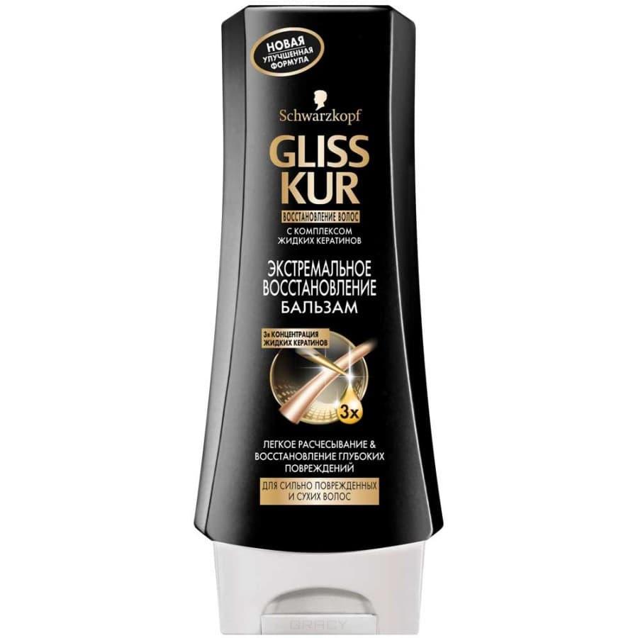 Gliss Kur, Бальзам Экстремальное восстановление для сильно поврежденных и сухих волос, 200 мл