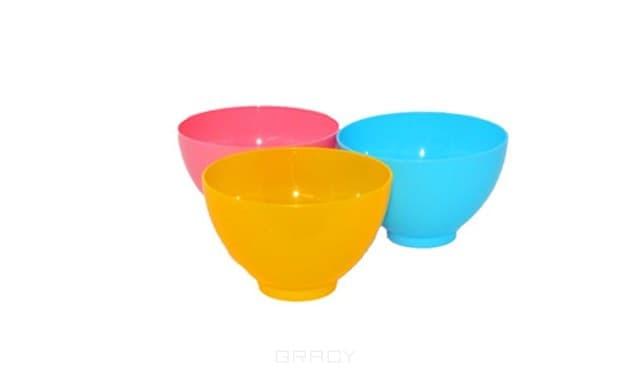 Igrobeauty, Мисочка пластиковая, диаметр 10,5см, высота 7см, (3 цвета), Синяя, 1 шт