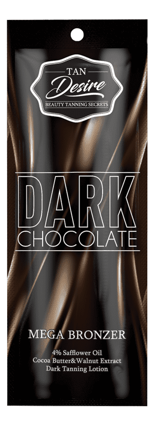 Tan Desire Лосьон для загара с бронзатором Dark Chocolate, 15 мл california tan крем для загара в солярии complexion optimizer step 2 30 мл