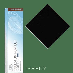 Wella, Стойкая крем-краска Koleston Perfect Innosense, 60 мл 2/0 черный