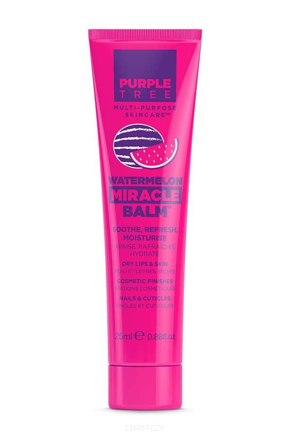 Purple Tree Бальзам для губ Арбуз Miracle Balm Watermelon, 25 мл cartoon tree duvet cover set